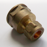 Brass Compression 10mm x 1/2 inch Female - 24411012